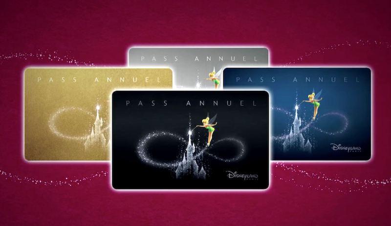 Passe anual da Disneyland Paris
