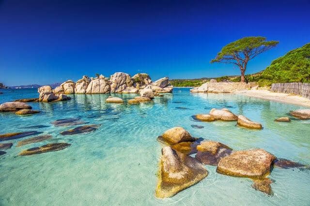 Praia de Tamaricciu na França
