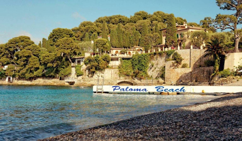 Pier na Praia Paloma na França