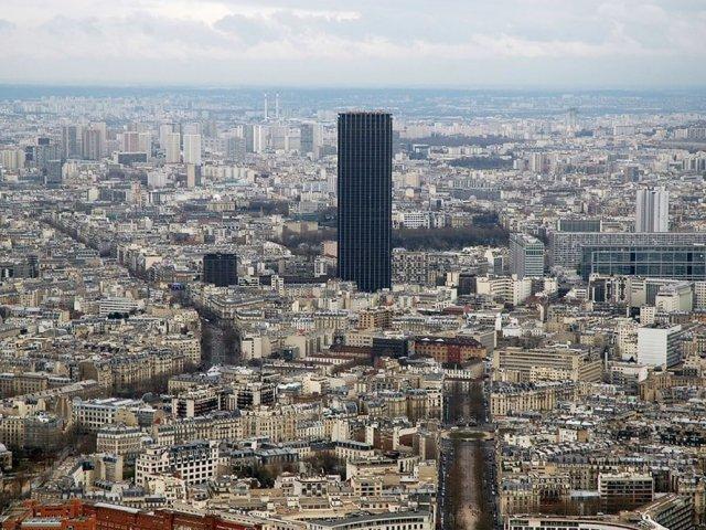 Torre Montparnasseem Paris