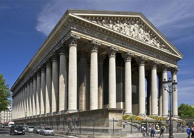 Igreja Madeleine em Paris