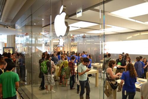 Loja Apple em Lyon