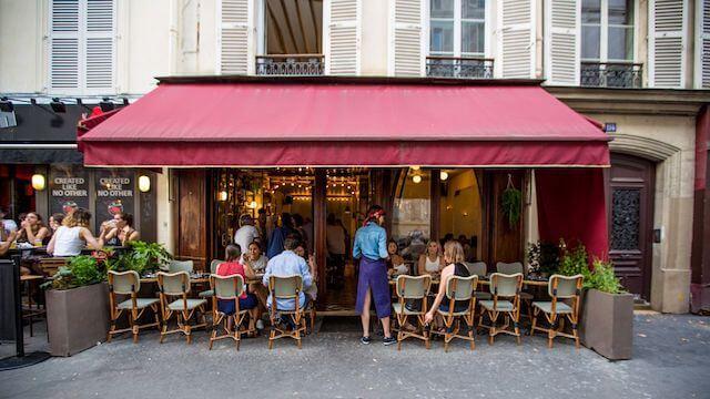 Entrada do Le Clown em Paris
