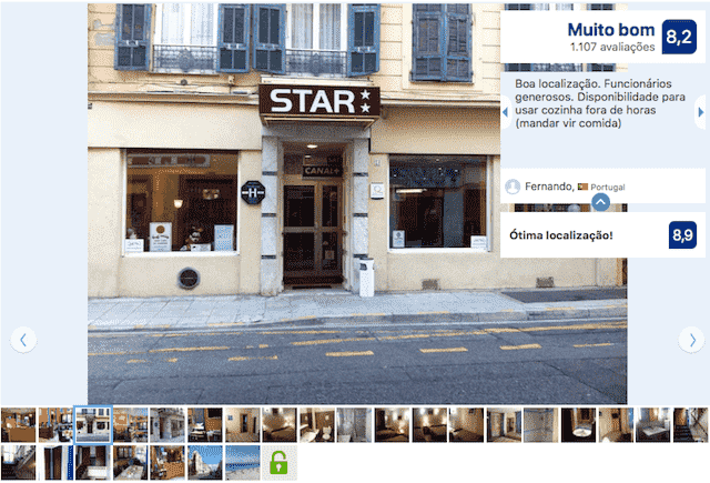 Hotel Star em Nice