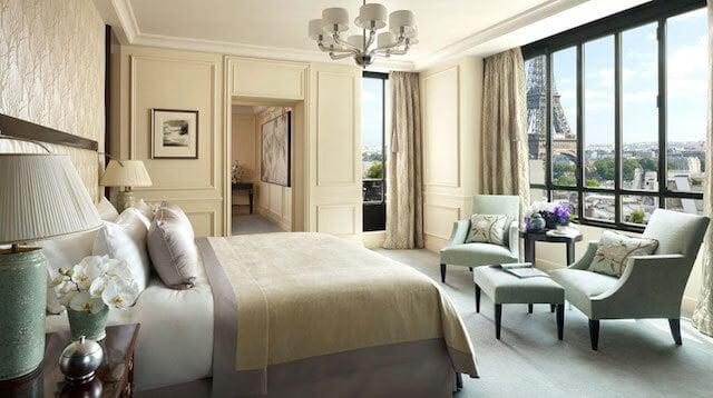 Hotéis de luxo em Paris