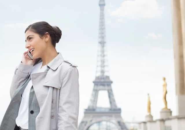 Chips para usar o celular em Paris e na França