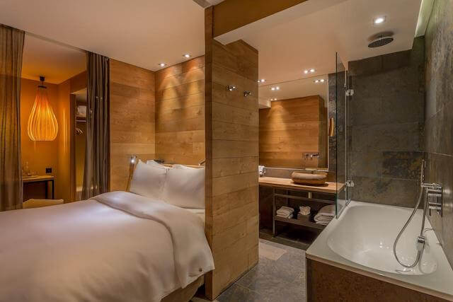 Hidden Hotel em Paris - quarto