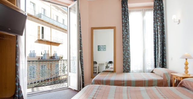 Hotel Star em Nice - quarto