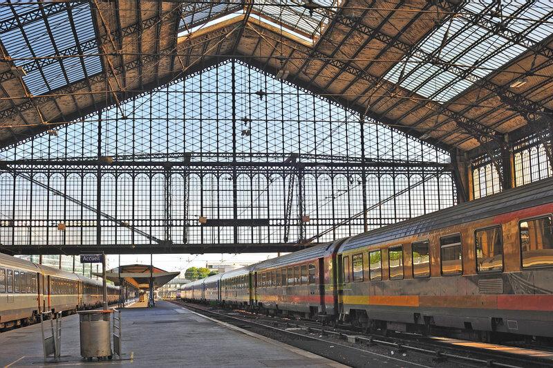 Viagem de trem de Annecy a Paris
