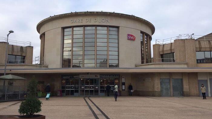 Estação de trem de Dijon