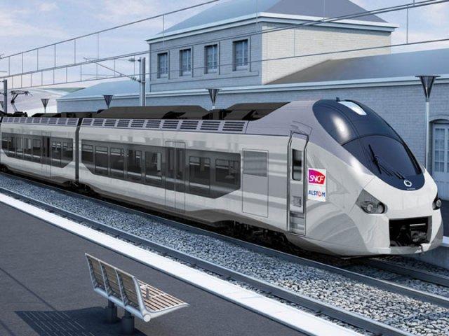 Viagem de trem até Nice