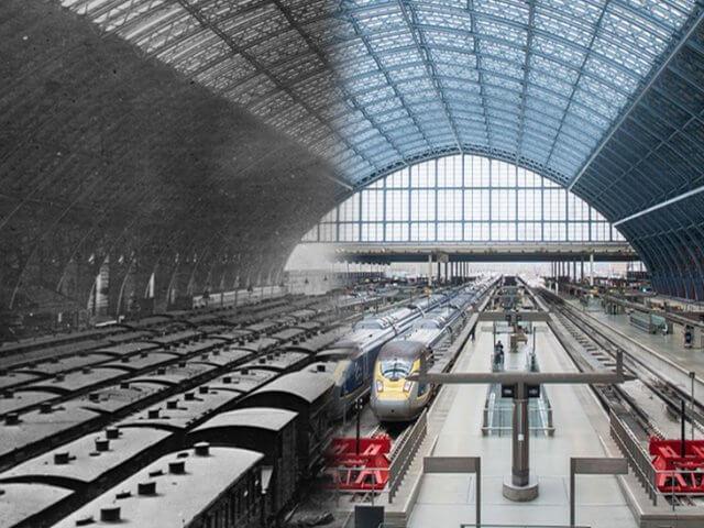 Viagem de trem de Lille a Londres