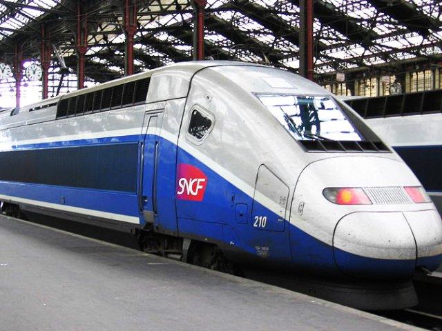 Viagem de trem de Paris a Moutiers