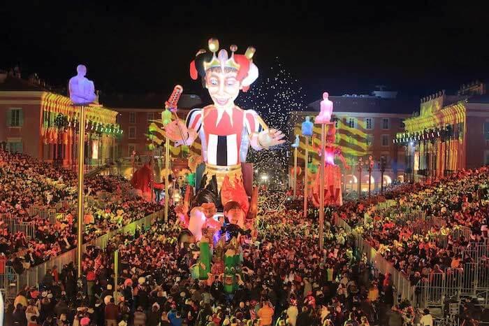 Desfile Carnaval em Nice
