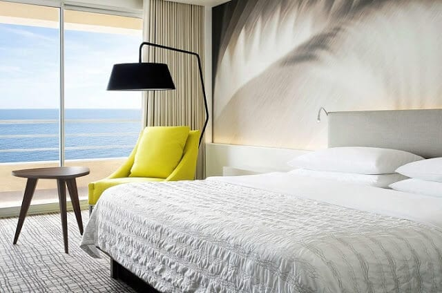 Hotéis no centro turístico de Mônaco