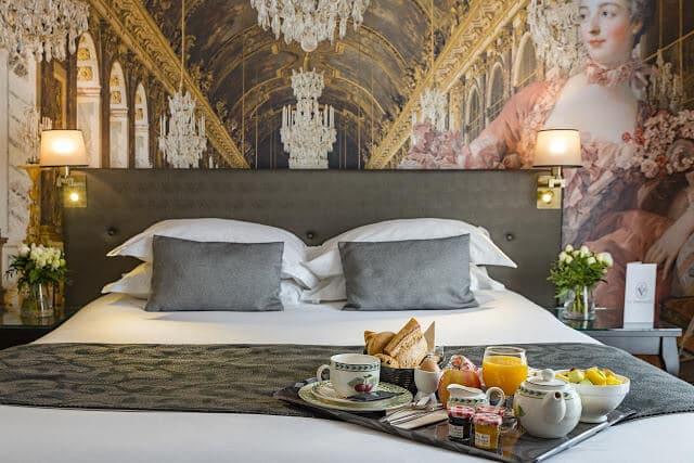 Melhores hotéis em Versalhes