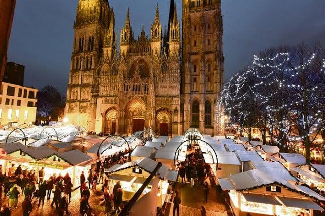 Mercado de Natal - Notre-Dame