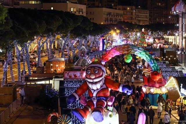 Mercado de Natal em Mônaco