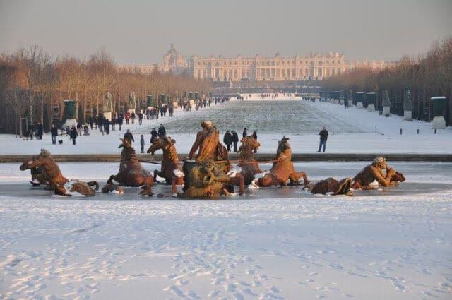 O que fazer no inverno em Versalhes