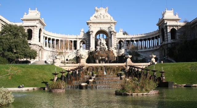Palácio Longchamp em Marselha