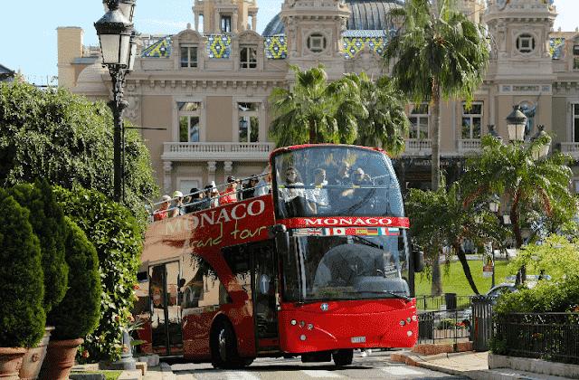 Passeio de ônibus turístico em Mônaco - Le Grand Tour