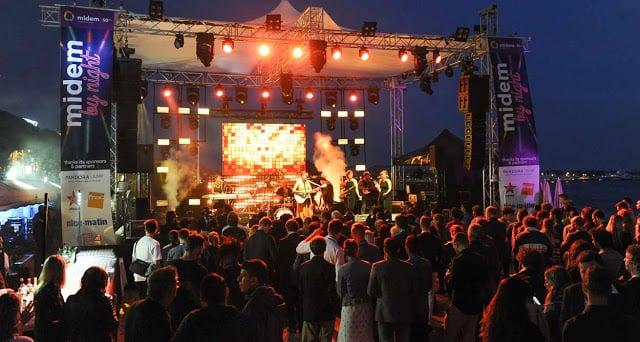 Midem Music Festival em Cannes