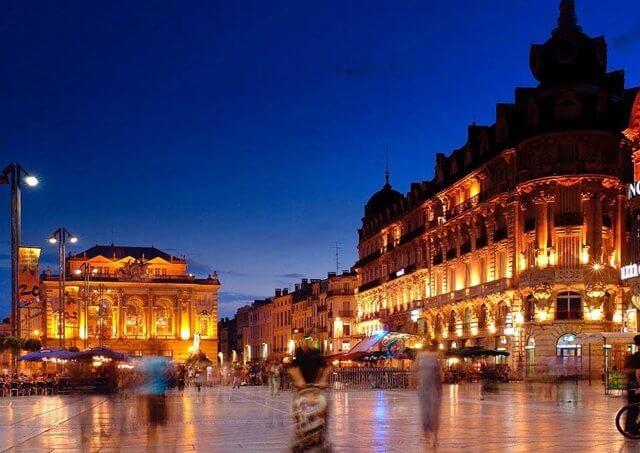 Vista de Montpellier
