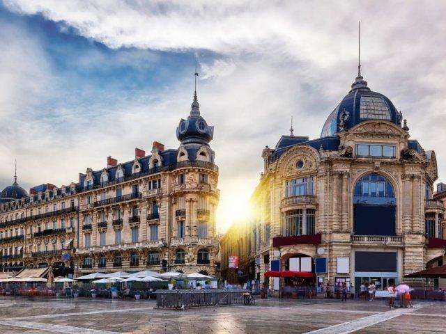 Mapa turístico de Montpellier
