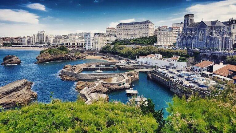 Vista de Biarritz