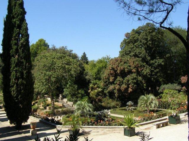 Jardin des Plantes em Montpellier