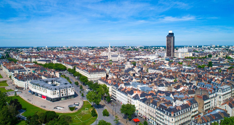 Mapa turístico de Nantes