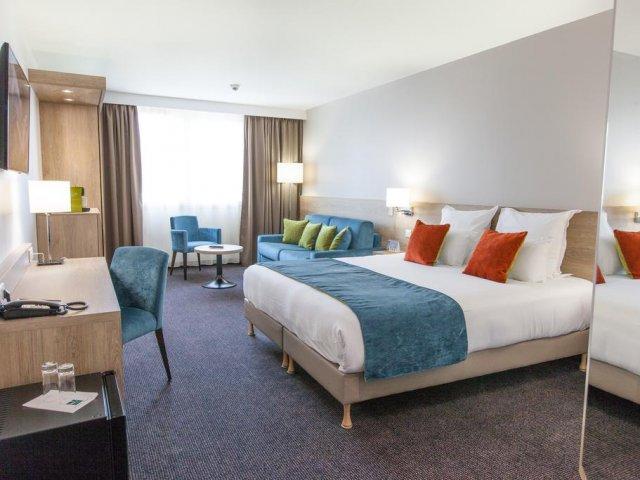 Vista do quarto do Quality Hotel Bordeaux
