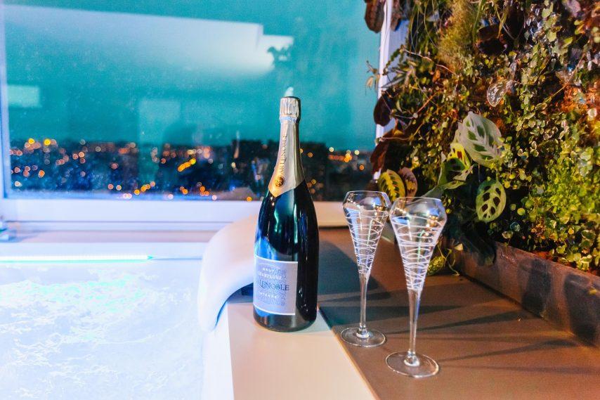 Champanhe na lua de mel em Toulouse