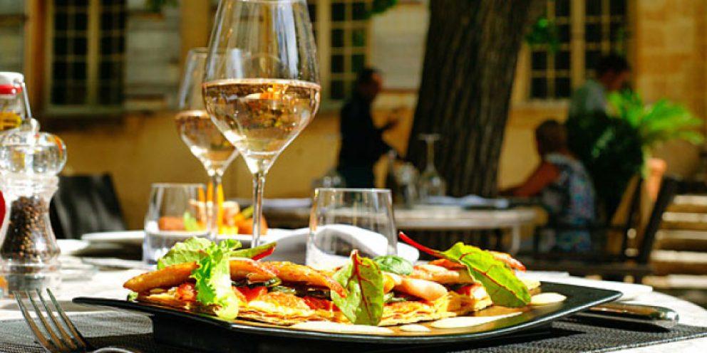 Comida em Paris em dezembro