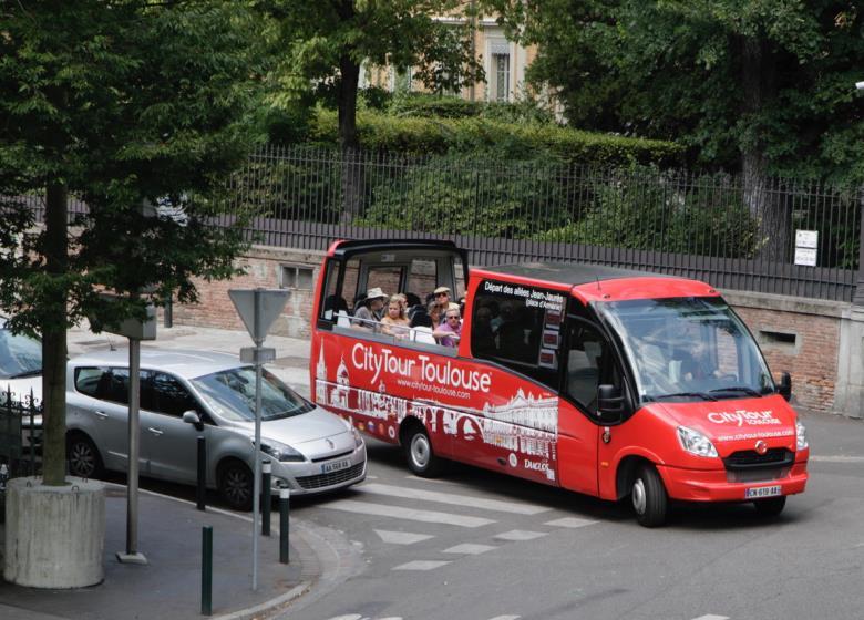 City Tour de ônibus em Toulouse