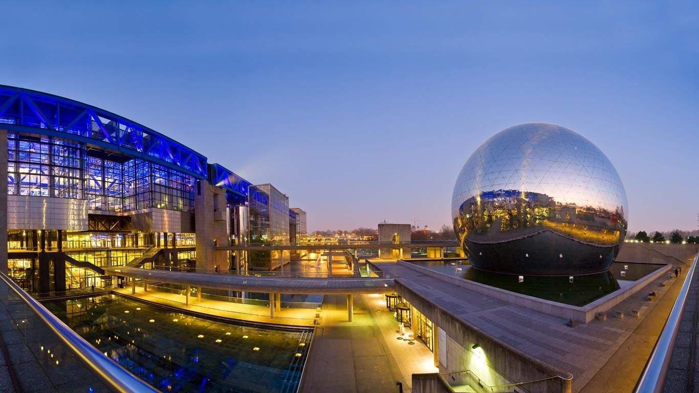 Cidades das Ciências e da Indústria em Paris
