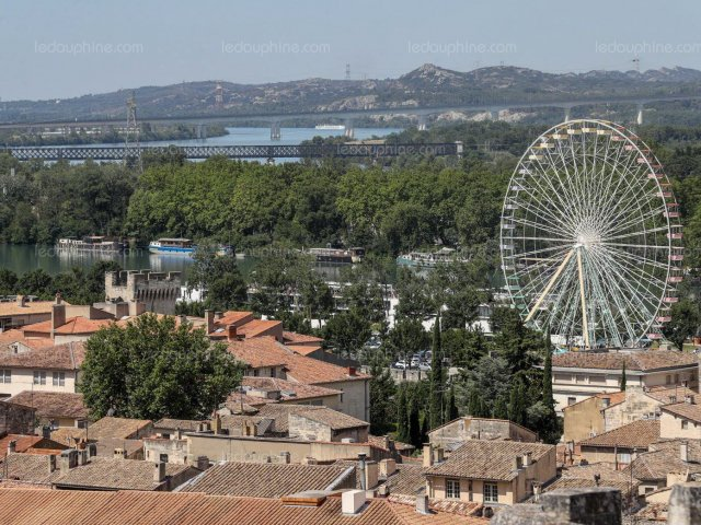Mapa turístico de Avignon