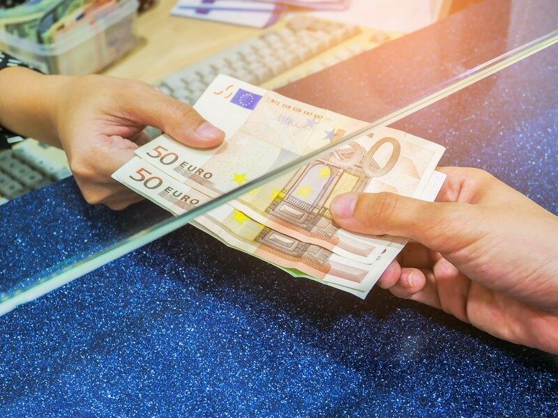 Enviar euros para o exterior