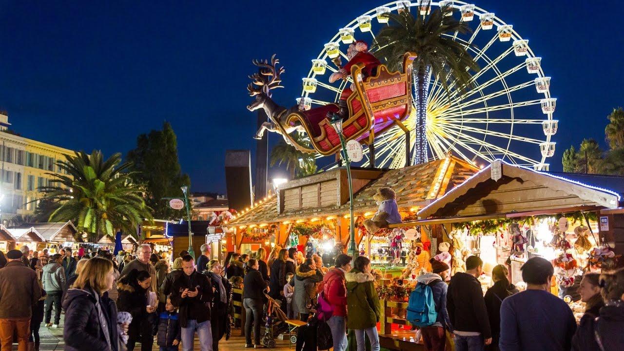 Mercado de Natal em Nice