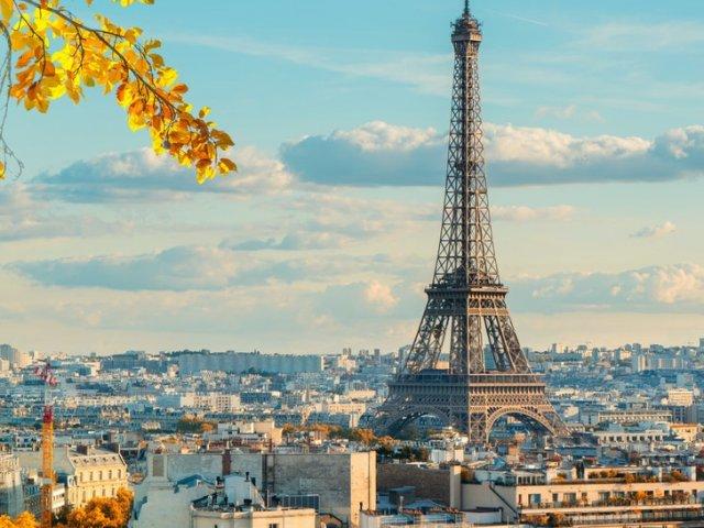 Paisagem de Paris de dia