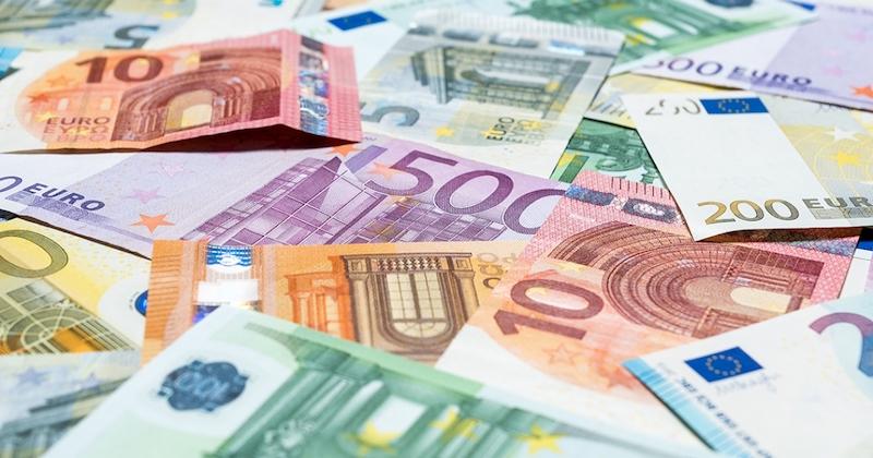Notas de euro na França