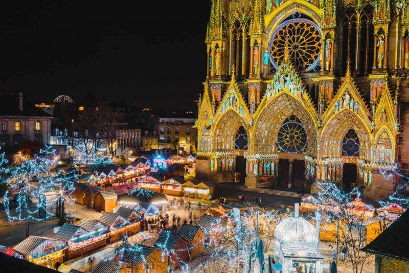 Mercado de Natal de Amiens