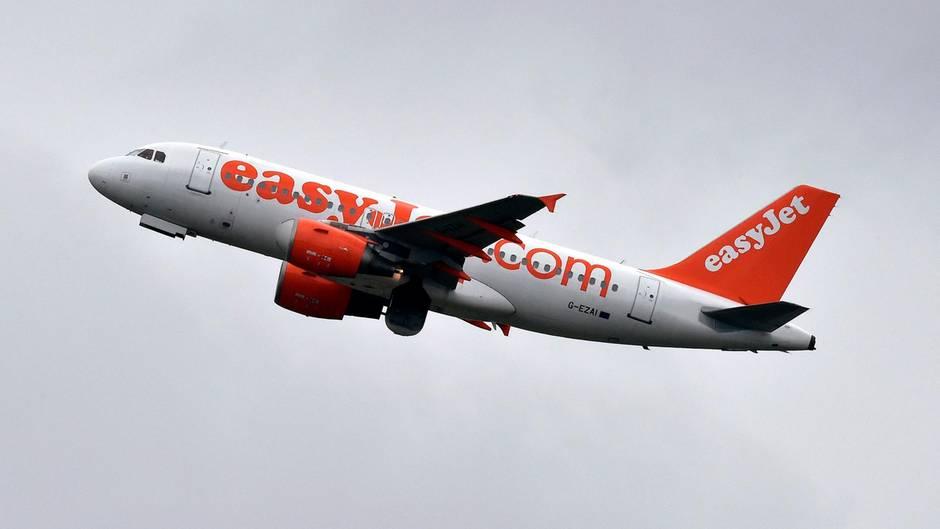Aviao decolando para Espanha