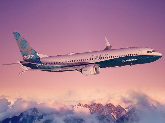 Aviao em voo