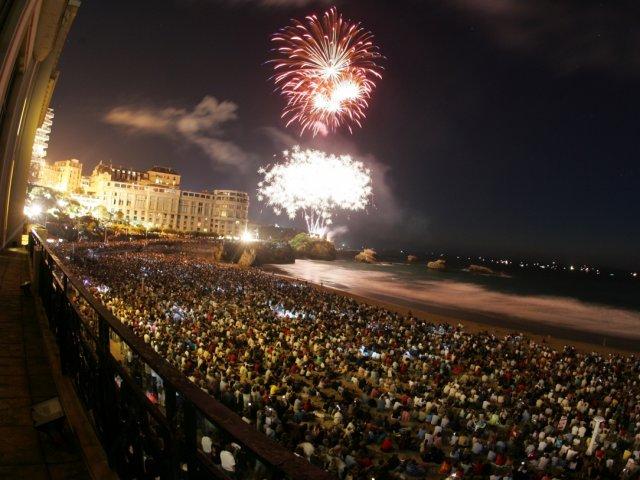 Ano Novo em Biarritz