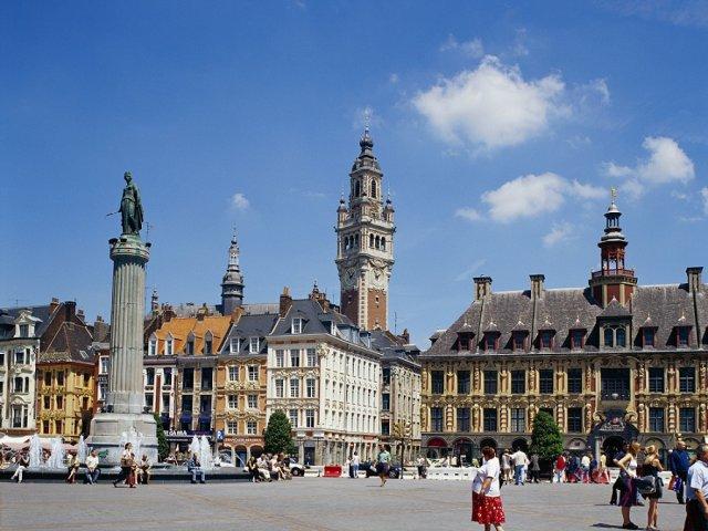Mapa turístico de Lille