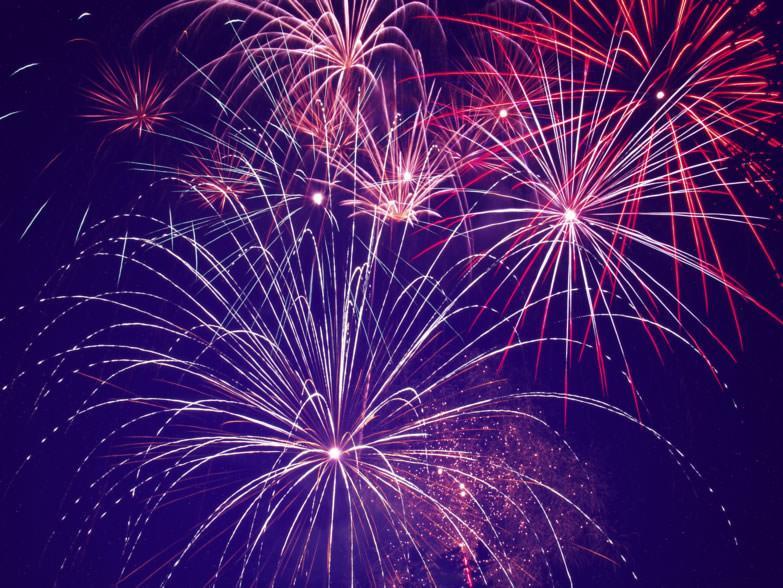 Fogos de artifício em Montpellier