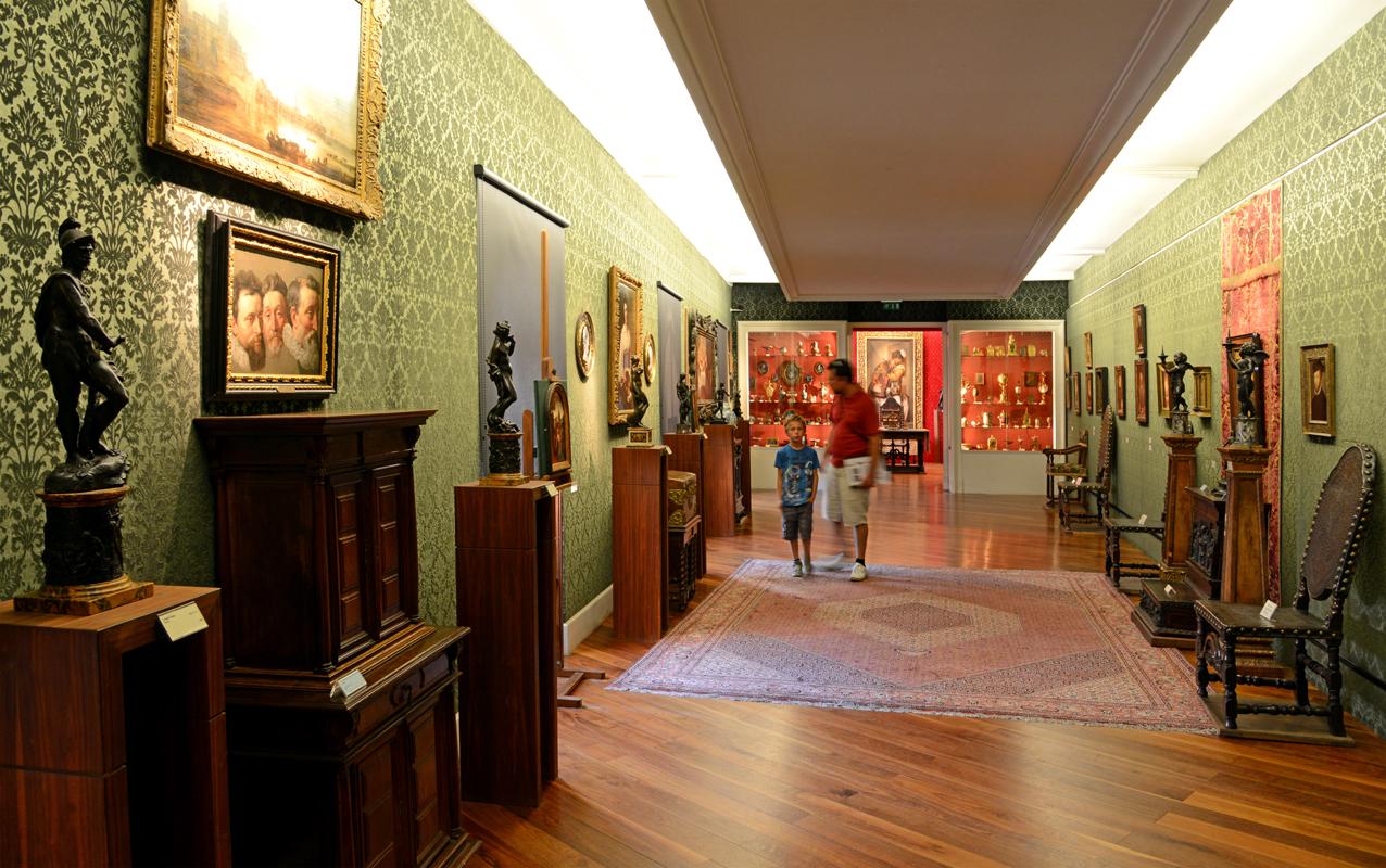 Interior da Fundação Bemberg