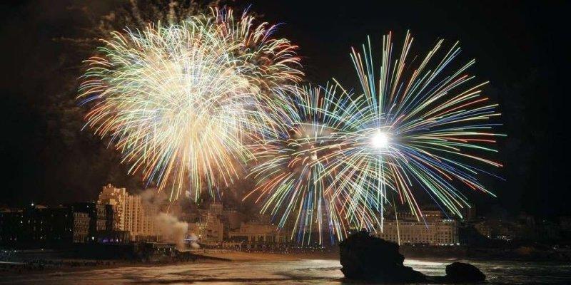 Virada do ano em Biarritz