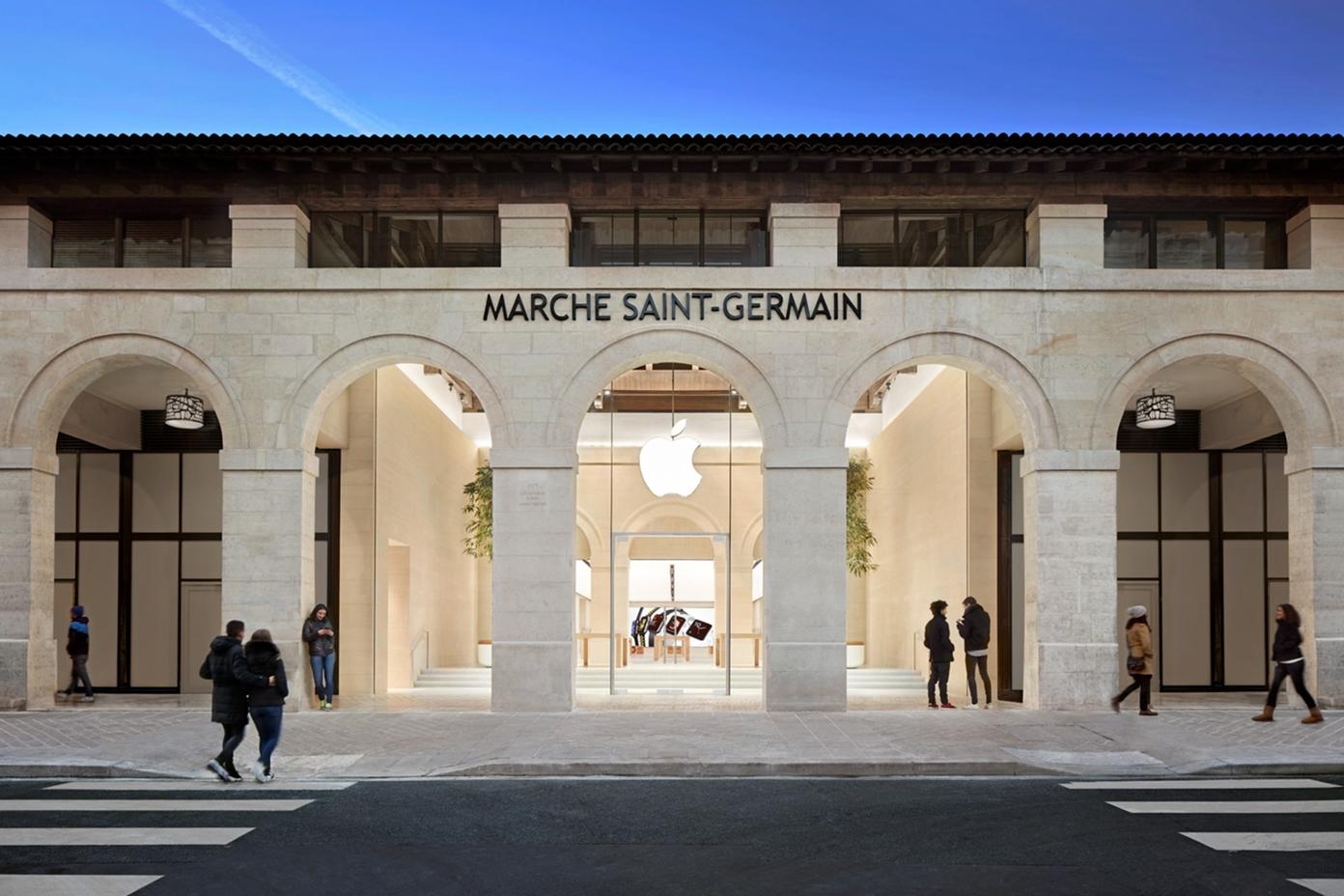 Apple Marché Saint Germain